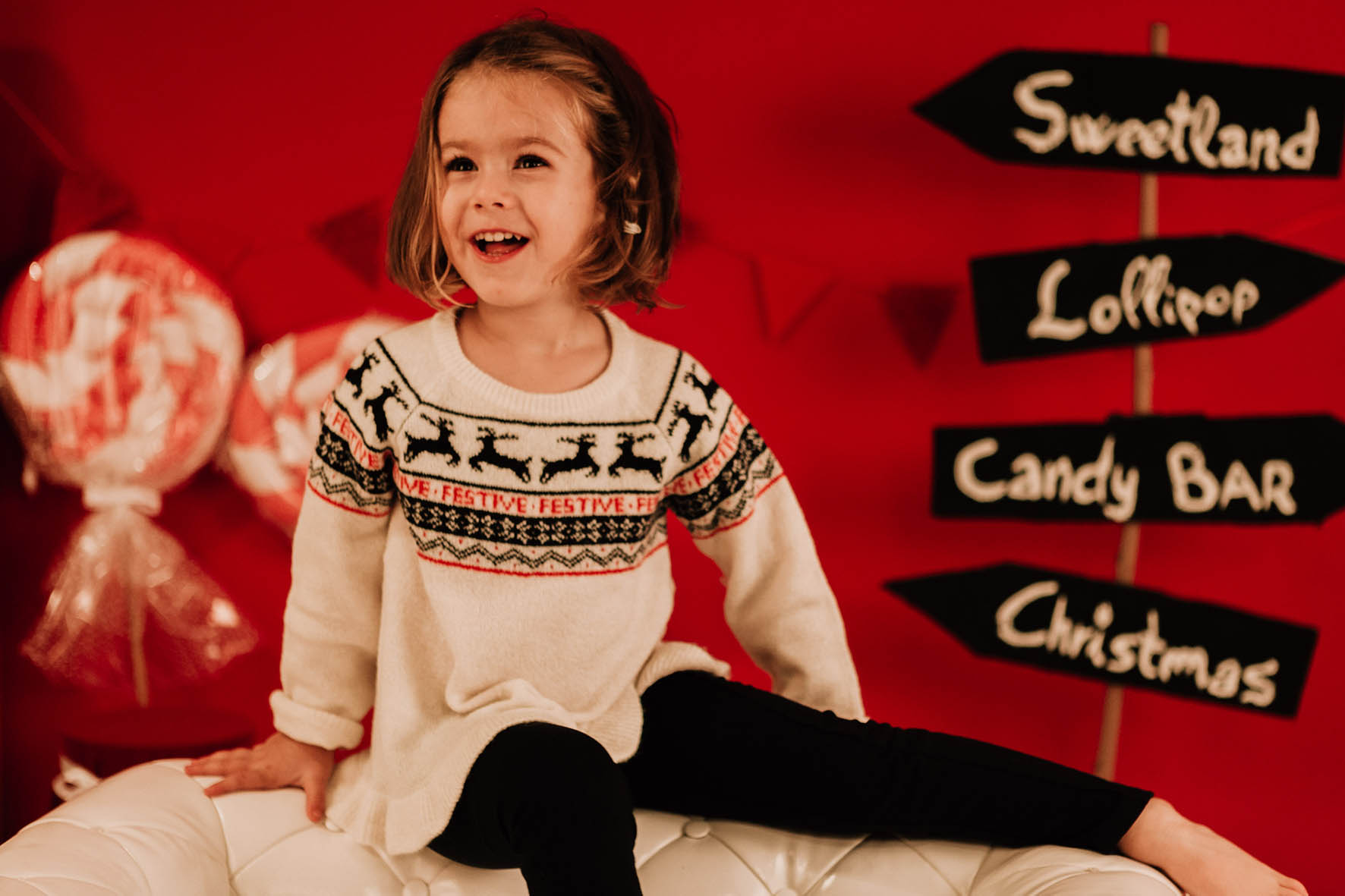 sesion navidad niños